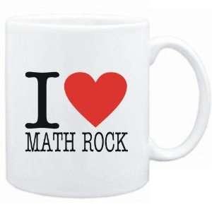 Mug White  I LOVE Math Rock  Music: Sports & Outdoors