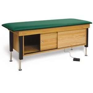Hi Lo Power CabinetTreatment Table, color royal blue, Model 4717 729