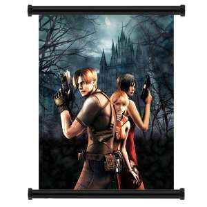 Resident Evil 4 Game Fabric Wall Scroll Poster (16 x 20