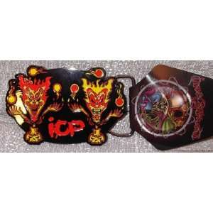 ICP Insane Clown Posse Juggling Jeckels Metal Enamel BELT BUCKLE