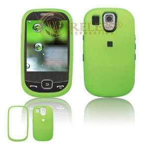 Samsung Flight A797 Cell Phone Rubber Feel Neon Green