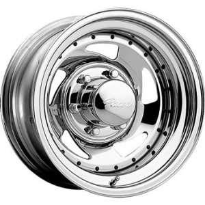 Pacer Chrome Modular 15x7 Chrome Wheel / Rim 5x4.5 with a  6mm Offset