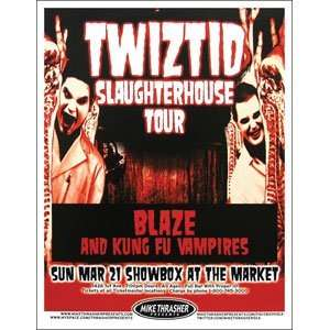 Twiztid   Posters   Limited Concert Promo:  Home & Kitchen