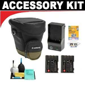 Canon Zoom Pack 1000 Holster Case + Two (2) NB 2LH