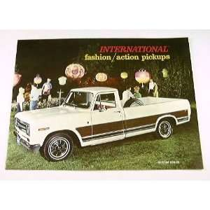 69 INTERNATIONAL PICKUP Truck BROCHURE 1000D 1100D