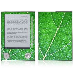 Sony Reader PRS 505 Skin   Green Leaf Texture Everything