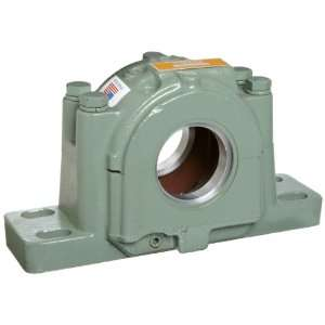 Roller Bearing Housing, 4 Bolt Holes, Cast Iron, Inch, 3 15/16 ID