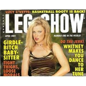 LEG SHOW APRIL 2001: LEG SHOW MAGAZINE: Books