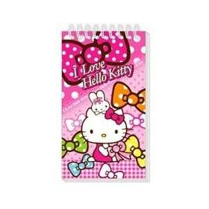 Hello Kitty Sanrio Notepad   I Love Hello Kitty