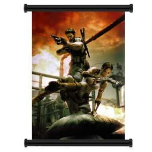 Resident Evil 5 Game Fabric Wall Scroll Poster (31 x 45