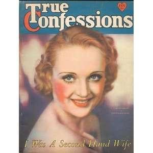 True Confessions Magazine, January 1932, Vol. XIX No. 114