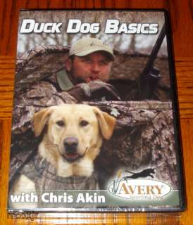 AVERY CHRIS AKIN DUCK DOG BASICS RETRIEVER TRAINING DVD 700905899951