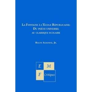 Critiques) (French Edition) (9781886365247): Jr. Ralph Albanese: Books