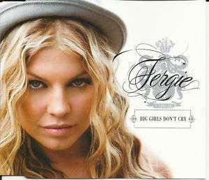 Black eyed peas FERGIE Big Girls Don't Cry CD Single 07