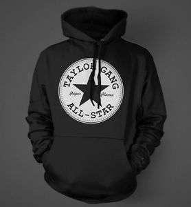 Taylor Gang All Star Wiz Khalifa RETRO T Shirt Hoodie