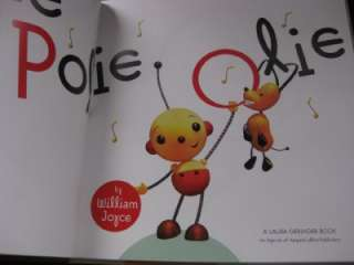 Rolie Polie Olie by William Joyce HCDJ 1st Edition EXC