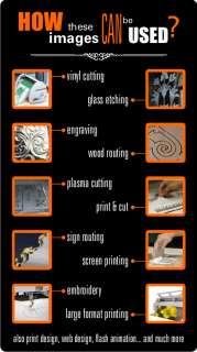 SIGN CLIPART VINYL CUTTER PLOTTER IMAGES CLIP ART VECTOR CD