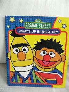 BERT & ERNIE SESAME STREET Whats Up In the Attic? sc