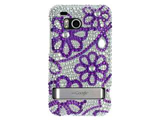RHINESTONE BLING CASE COVER HTC INCREDIBLE THUNDERBOLT