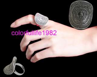 Punk Cool Fashion Vintage Tibetan Silver Ring #0401