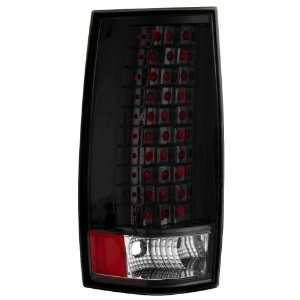 Matrix MTX 09 4093 LB L.E.D. Tail Lights Black for Chevrolet Suburban
