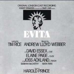 Evita (Original London Cast): Andrew Lloyd Webber, Elaine