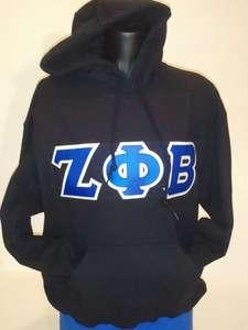 Zeta Phi Beta Hooded Sweatshirt PICK YOUR SIZE!