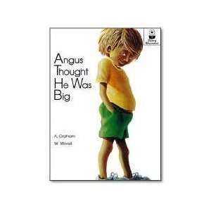 Angus Thought He Was Big Tall Book (Giant Step Readers
