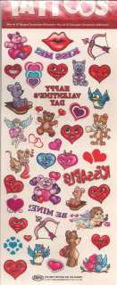 Over 35 Sweet Heart Tattoos #1   Valentine  New