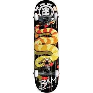 Element Skateboards BAM VENOM TWIG Complete Skateboard: