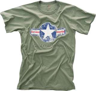 Vintage Military Army Air Corp Tee Air Force T Shirt
