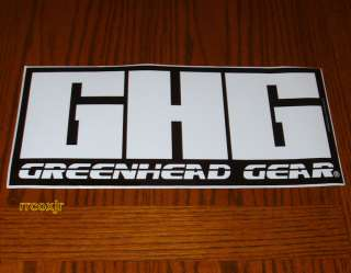 AVERY GREENHEAD GEAR GHG LOGO DECOYS DECAL STICKER 6.5