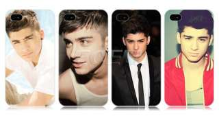 ZAYN MALIK ONE DIRECTION 1D BOY BAND BACK CASE COVER FOR APPLE iPHONE