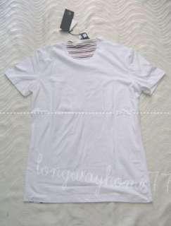 Cavalli Men Flower T shirt White