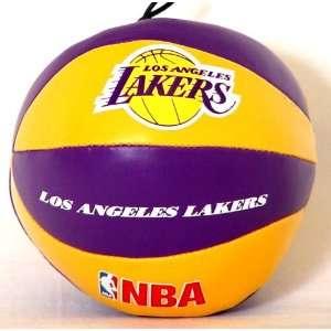 Los Angeles Lakers NBA Soft Toy Mini Basketball Dangler