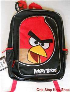 ANGRY BIRDS Boys Girls BACKPACK School Bag Tote
