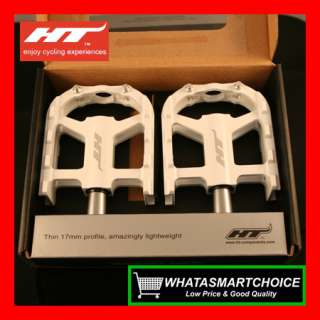 AR12 WHITE Mountain & Road & BMX Bicycle Bike Pedals