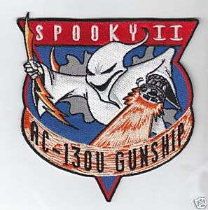 Air Force AC 130U Spooky II OEF/OIF Gunship Patch