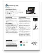 HP TouchSmart 600 1390 All in One Desktop PC (Black