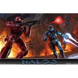Halo 3 Halo3 Xbox 360 Game Dawn & Battle 2 Poster Set