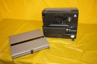 Bell & Howell Model 1620 Dual 8 mm & Super 8mm Film Projector   Works