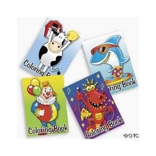 pack of Kids Coloring Books ~ Great Party Favors by Party Supplies