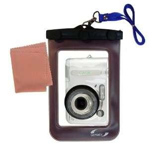 Waterproof Camera Case for the Casio QV R62 * unique floating design