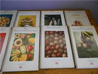 of 12 Vintage Foods of the World Cookbooks   Time/Life Set   Way Cool