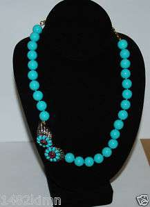 Heidi Daus SEA WORTHY Crystal Accented Beaded Necklace