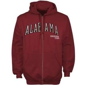 Alabama Crimson Tide Crimson Big Lettering Applique Full