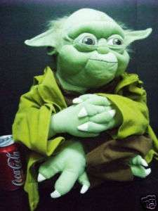 NEW Rare Star Wars Yoda Huge 25x15 Plush Toy Figure