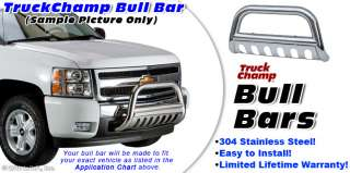 Stainless Push Grill Guard 88 98 CHEVY GMC C/K PICKUP SUBURBAN TAHOE