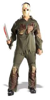 ADULT JASON FRIDAY 13TH DELUXE 3 PC COSTUME MASK R56064