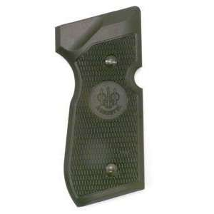 Beretta 92FS Grip, Brown Plastic, Right Side Only Sports